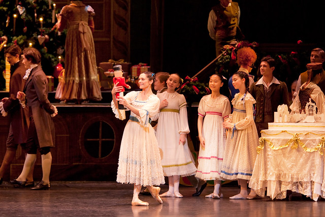 Iohna Loots as Clara in The Nutcracker © ROH / Johan Persson, 2010
