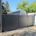 Fence and Gate - Natura Anthracite by Fiber Cement Boards