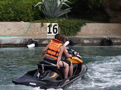 tubing(0.0), rapid(0.0), motorsport(0.0), boat(0.0), vehicle(1.0), sports(1.0), recreation(1.0), outdoor recreation(1.0), boating(1.0), extreme sport(1.0), water sport(1.0), jet ski(1.0), personal water craft(1.0), watercraft(1.0),