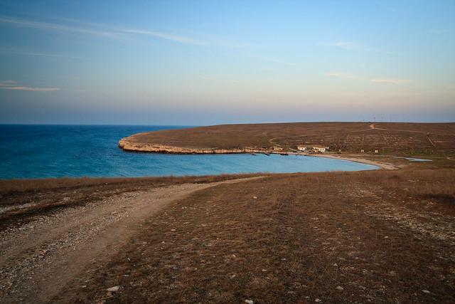 Road along the shore 2