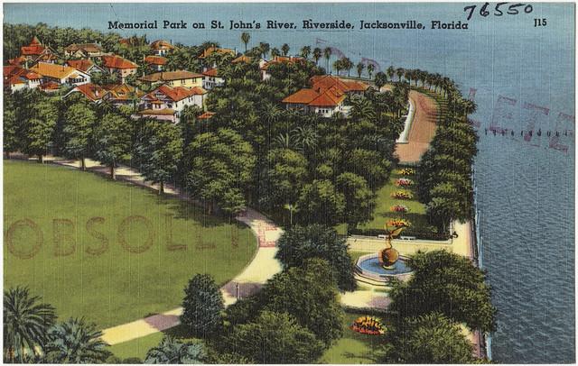 Memorial Park On St John 39 S River Riverside Jacksonville