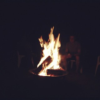 Bonfires are my new favorite hobby.