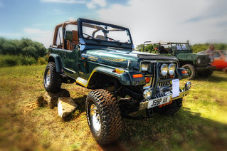 Wrangler Jeep - Maxey Classic Car Show 2012