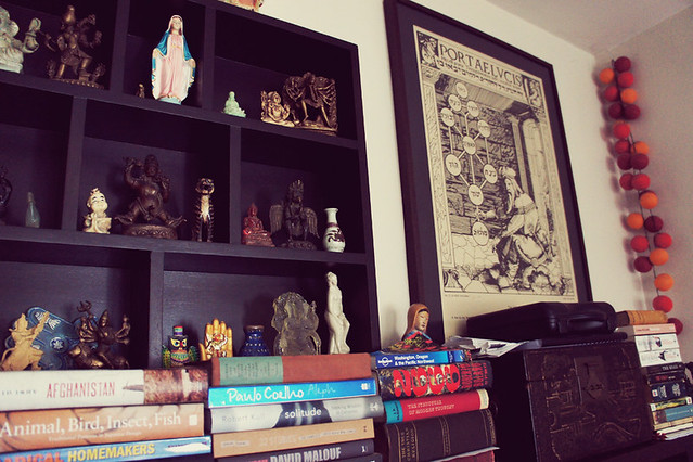 Books and trinkets