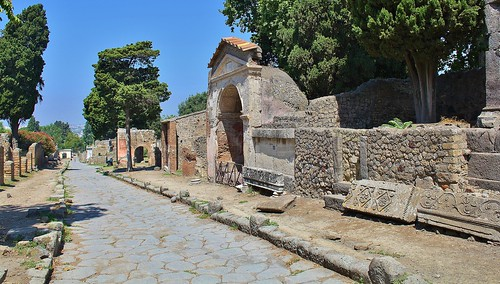 Pompeii Italy by Kinzler Pegwell