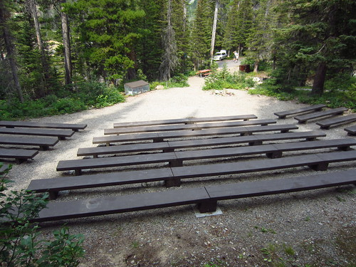 Two Medicine Campground Amphitheater - 1
