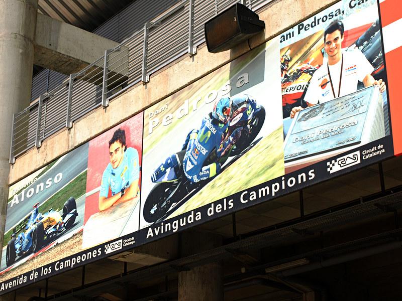Avenida de los Campeones, Spanish Grand Prix, Circuit de Catlunya, Barcelona