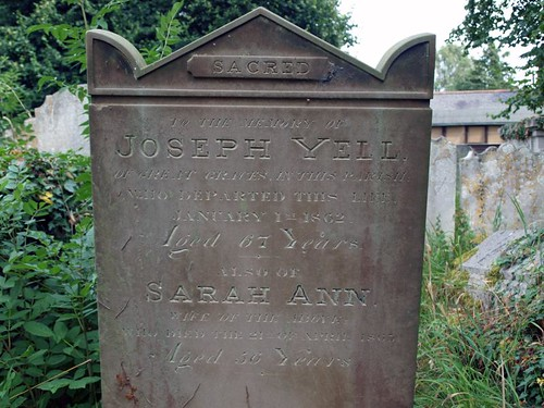 Joseph Yell 1862