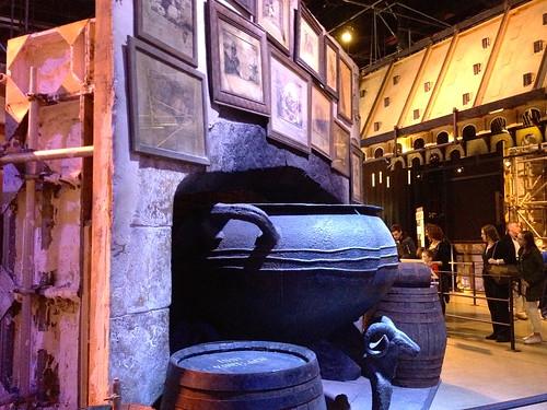 A very large cauldron!