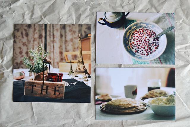 my photos made into postcards