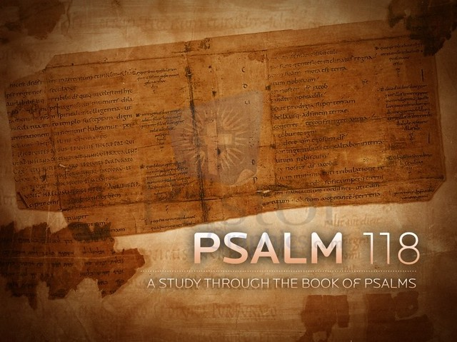 Sunday Scripture – Psalm 118:1