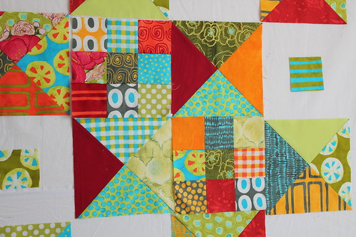 A Stitch in Color Quilt-Plan A