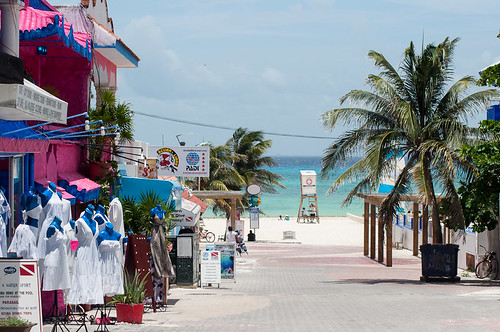 La 5ª Avenida de Playa del Carmen