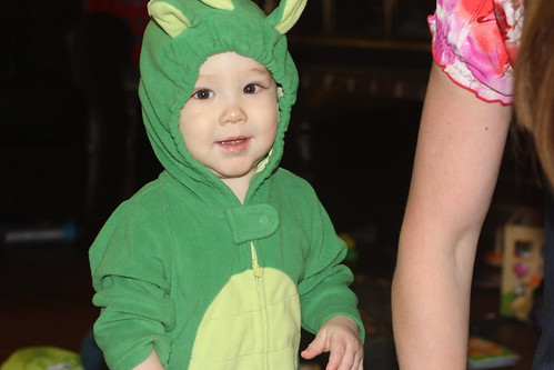 My little dragon.