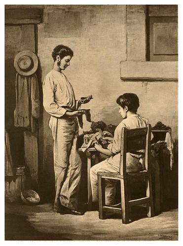 011- El tabaquero-Tipos y costumbres de la isla de Cuba…1881-Victor P. Landaluze
