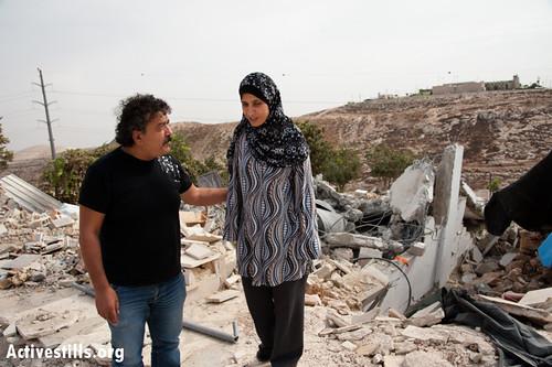 Beit Arabiya demolished, Anata, West Bank, 5.11.2012 cc: flickr || Photo by: Ryan Rodrick Beiler/Activestills.org
