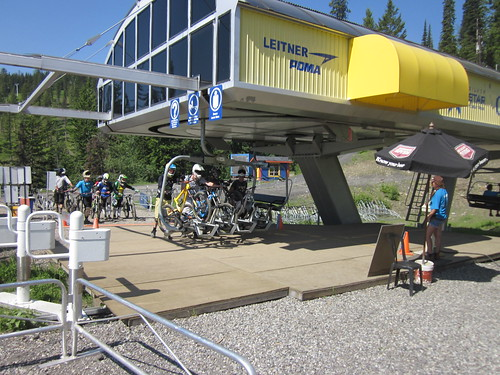 T2R July 2012. BC Bike Park Tour. Silver Star