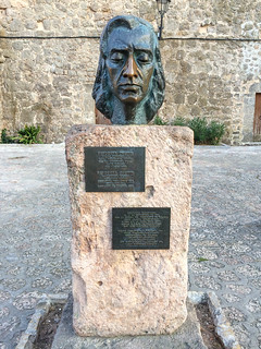 Image of Frederic Chopin. spain europe espana mallorca majorca valldemossa balearicislands iphone5s fujifilmx20