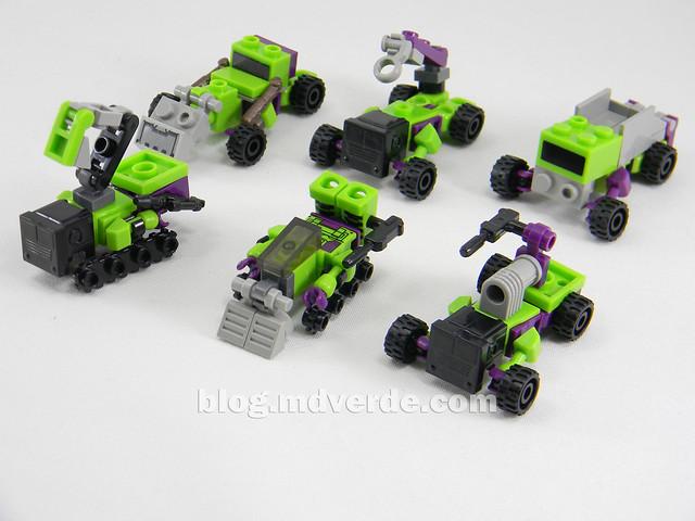 Transformers Devastator Kre-O - modo alterno