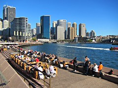 View of Sydney from the Opera House