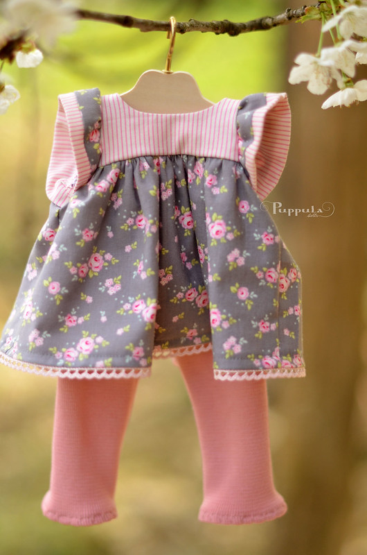 Spring outfit for a 15inch doll