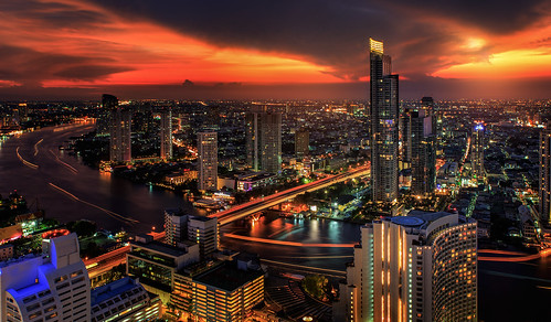 city bridge blue light sky cloud moon holiday fish reflection building eye tower water skyline architecture modern night speed skyscraper river relax landscape thailand hotel boat town office twilight construction highway asia downtown cityscape view traffic state wind bangkok space capital transport illumination landmark center business transportation thai area phuket pattaya