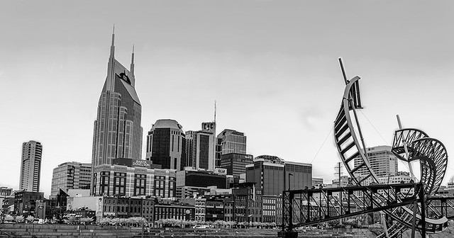 Nashville With Sculpture