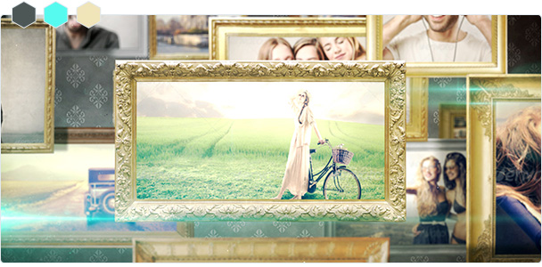 Custom-Color Old Frame Big Slideshow 2