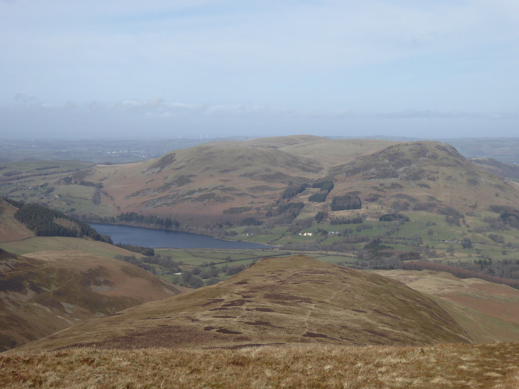 Low Fell and Loweswater from Hen Comb