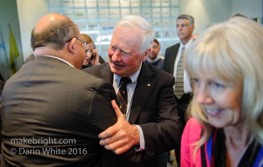 Governor General David Johnston at the AC - May 2016 426