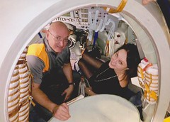Scott Kelly and Sarah Brightman