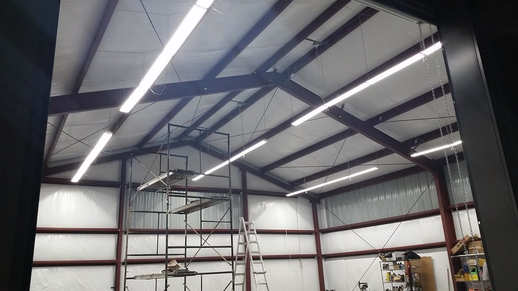 I am still working on cleaning up the wiring but I wanted to show you what 24 lights from Sams club look like in a 40x40x16 building. & SAMs club 4ft led lights - The Garage Journal Board azcodes.com