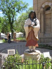 2011 - Historic Santa Fe Plaza area of Santa Fe, New Mexico