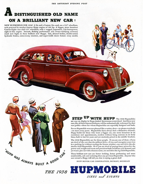 Hupmobile, A Fine Car With A Famous Name
