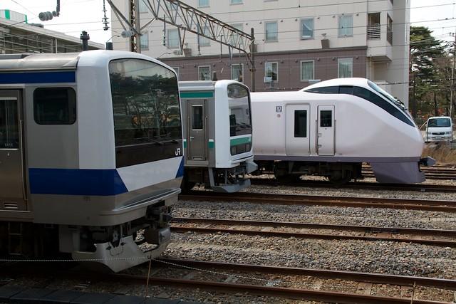 勝田駅留置線