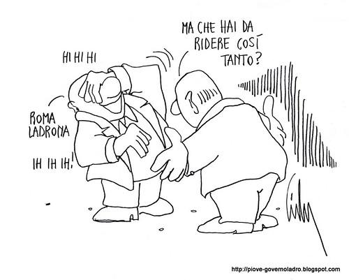 Roma Ladrona? by Livio Bonino