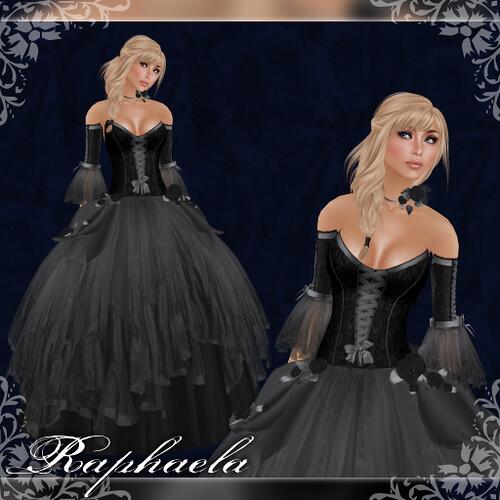 Raphaela - Gown - Overcast