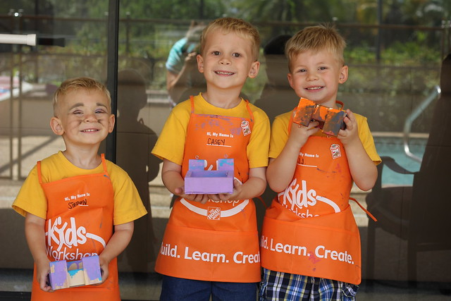 Home Depot Kids Workshop