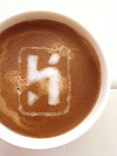 Today's latte, heroku.