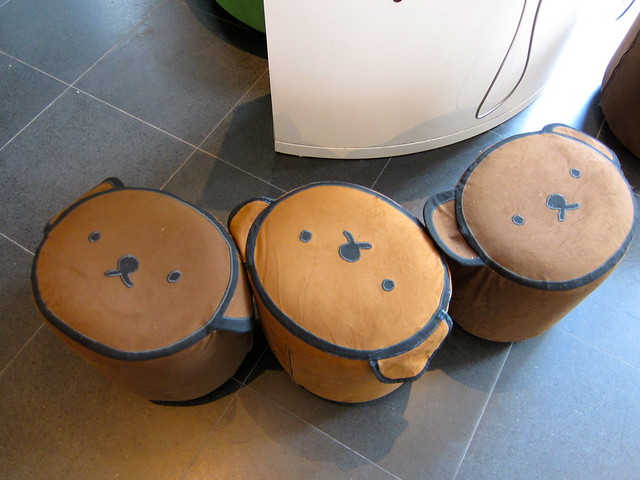 Dick Bruna bear stools