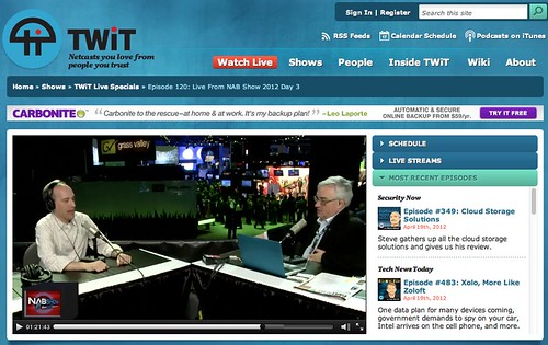 TWiT Live Specials 120 | TWiT.TV by stevegarfield