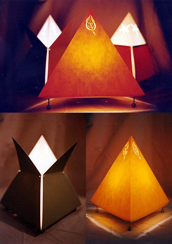 circa 1996 - lamps ::  lampes