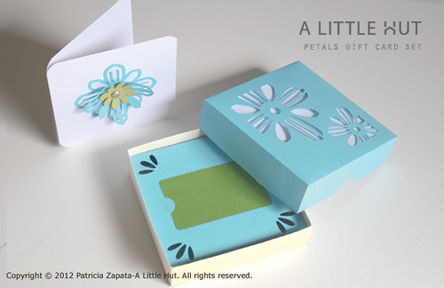 petals gift card set