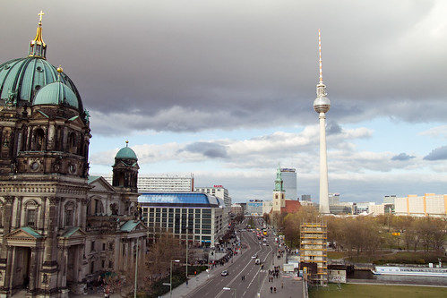 Cathedral and TV Tower