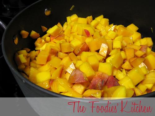 Peach Mango & Vanilla Jam