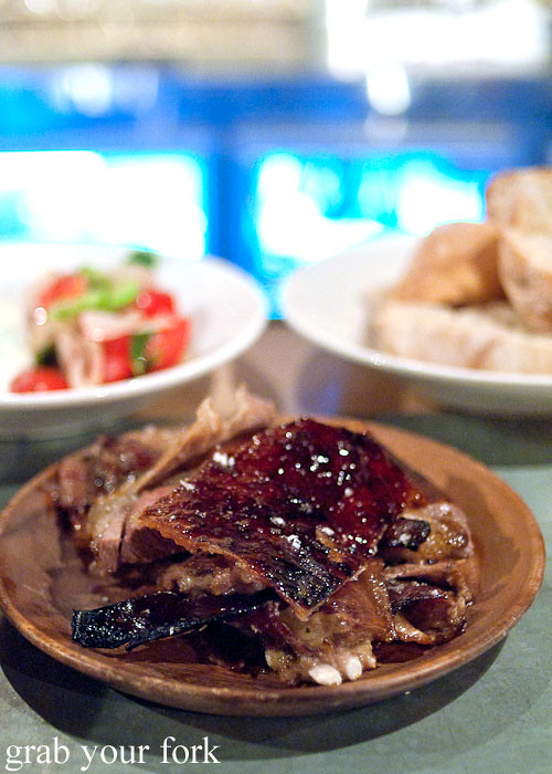 spit roasted lamb at freda's chippendale