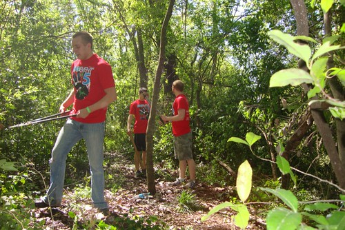 Coates Bluff Trail / Centenary College Big Event by trudeau