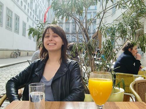 Michelle in Vienna