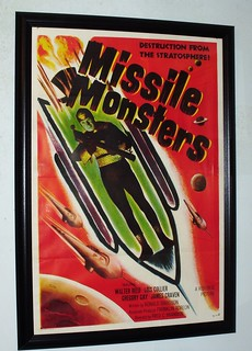 "01492 - Missle Monsters movie poster (27"" x 41"")"