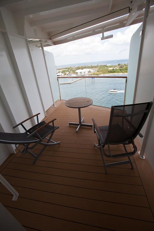 Celebrity Reflection Cabin 9192 Extended Balcony - YouTube